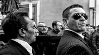Trapani's Easter Procession in B&W
