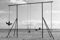 Swinging on Santa Monica Beach 06